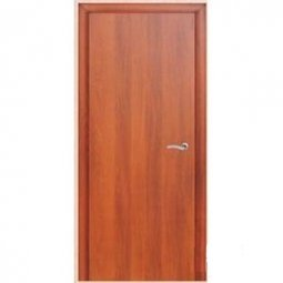 Дверное полотно Brozex-Wood глухое гладкое 2000x300 Итальянский орех