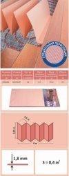 Подложка Solid Термо Розовая 1.8 мм (1.05 м x 8 м)