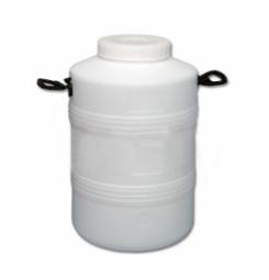 Бидон Тара пластиковый с резьбовой крышкой 50 литров