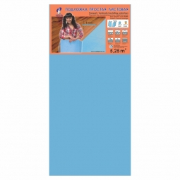 Подложка листовая Solid Синяя 5 мм (1.05 м x 0.5 м)