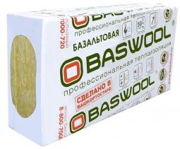 Минераловатный утештитель Baswool Лайт 35 1200х600х50 мм / 6 шт.