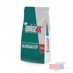 Гипс строительный Brozex Алебастр 1,5 кг