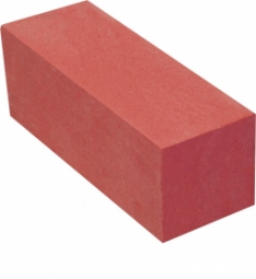 Кирпич лицевой силикатный Красный полнотелый одинарный