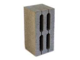 Каменный блок 4-х пустотный 390х190х188  М 75