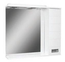 Шкаф-зеркало Домино Cube 65 правый с электрикой DC5007HZ