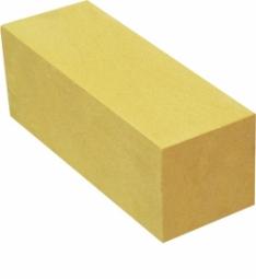 Кирпич лицевой силикатный Желтый полнотелый утолщенный