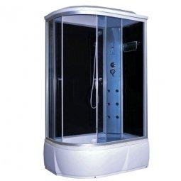 Кабина душевая Aquacubic 3106B R 1200х800х2200 мм Grey black