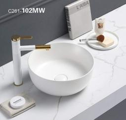 Раковина Comforty 102 MW белая матовая