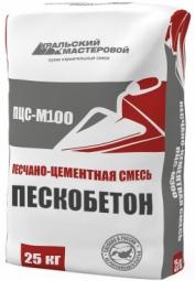 Штукатурка Уральский Мастеровой ПЦС-М100 25 кг