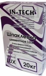 Шпатлевка In-Teck Lux цементная белая 20 кг