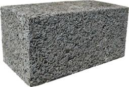 Арболитовый блок 495х300х195 D700