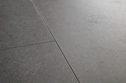ПВХ-плитка Quick-step Livyn Ambient Glue Plus Минеральная крошка серая