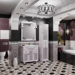 Комплект мебели Opadiris Тибет 80 Белый (беленый бук, Weiss)