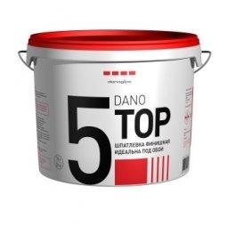 Шпатлевка готовая Danogips DanoTop 5 финишная 16.5 кг