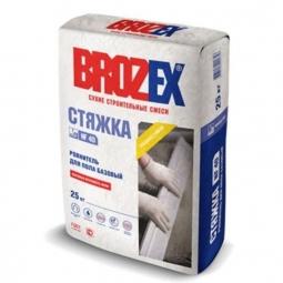Ровнитель для пола Brozex Стяжка NF-40 базовый 25 кг