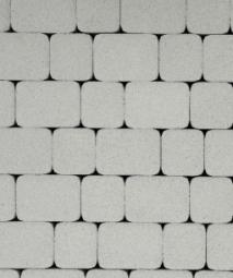 Тротуарная плитка Классико Стоунмикс 115х172х60 Белая