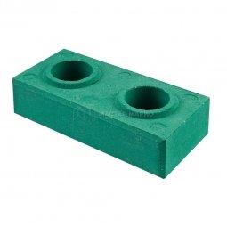 Кирпич Лего гиперпрессованный Зеленый