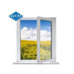 Окно ПВХ Veka 600х600 мм одностворчатое П 3 стеклопакет