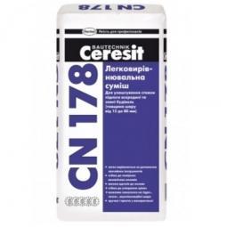 Стяжка выравнивающая Ceresit CN178 25 кг