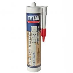Клей строительный Tytan для зеркал №930 бежевый 380г