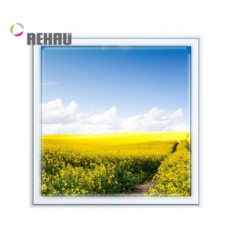 Окно ПВХ Rehau 600х600 мм одностворчатое Г 3 стеклопакет