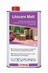 Защитная пропитка Litokol Litocare Matt с матирующим эффектом, 1л