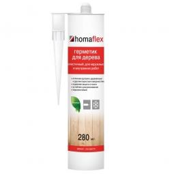 Герметик Homaflex Эластичный тёмный орех 280 мл